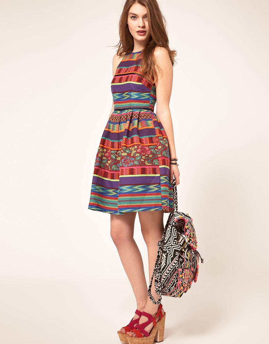 Domestic Sluttery: Dream Dress: ASOS Mexican Print