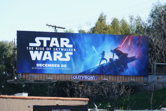 Star Wars Rise of Skywalker billboard