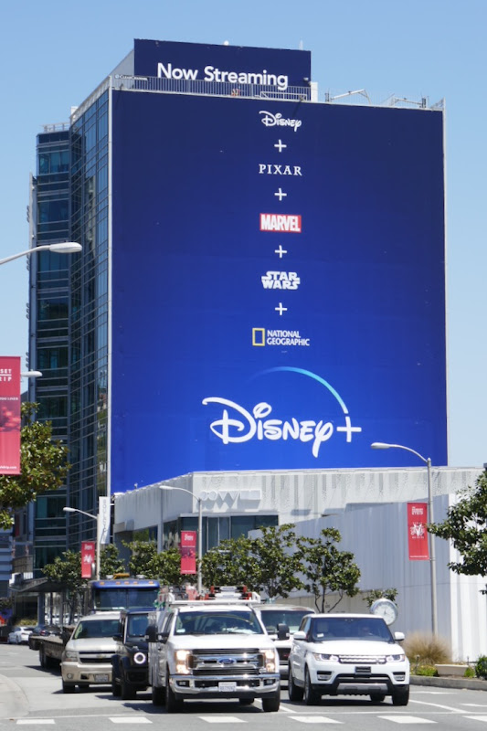 Giant Disney+ 2020 billboard