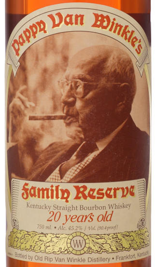 Pappy Van Winkle's Family Reserve 15-Year & 20-Year