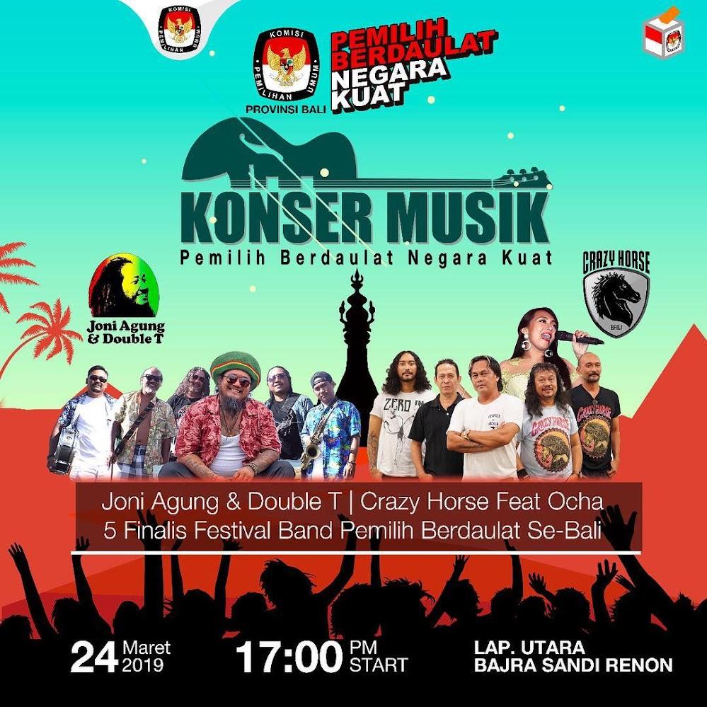 Konser Pemilu Fun Run Bali  • 2019