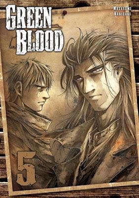 Masasumi Kakizaki - Green Blood t.5