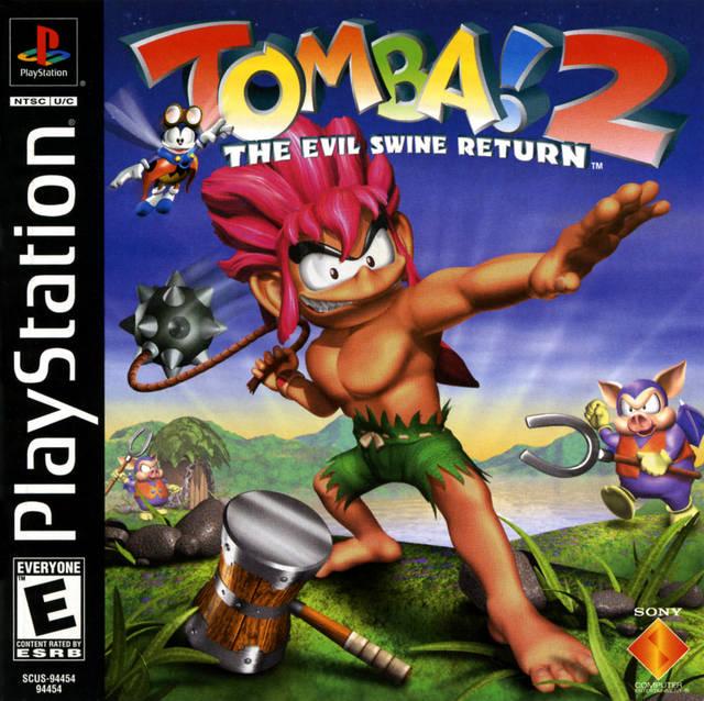ROMs - Tomba! 2 - The Evil Swine Returns (Português) - PS1 - ISOs Download