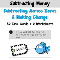 Subtracting Across Zeros Using Money