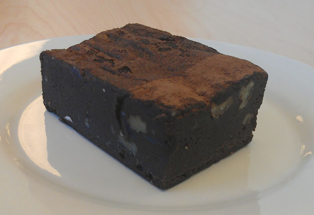 Shaky Isles, Newmarket, New Zealand, chocolate brownie