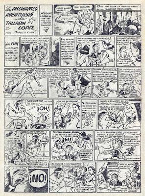 Las fascinantes aventuras de Tallarin Lopez, Pulgarcito nº 41(1947)