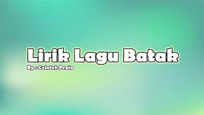 Lirik Lagu Batak Molo Dung Borngini  Dang Tarbahen Au Ito Voc Joel Simorangkir