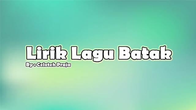 Lirik Lagu Batak Molo Huingot Molo Huingot Ma Sude Artist Marsada Band