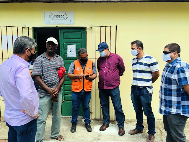 Vereador Bruno Salsa busca soluções para falta d'água no Gambá