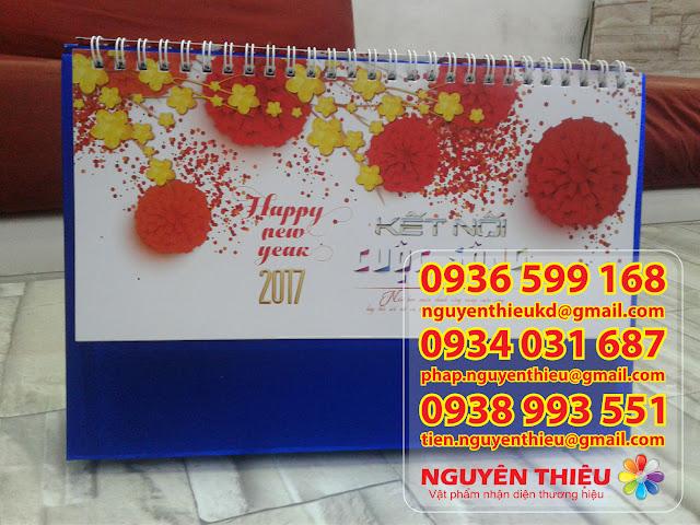 Sản xuất sổ tay giá rẻ, sản xuất lịch tết quà tặng giá rẻ