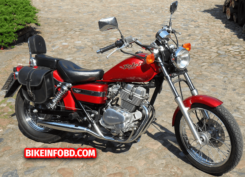 Honda CMX250 Rebel Specifications, Review, Top Speed, Picture, Engine, Parts & History