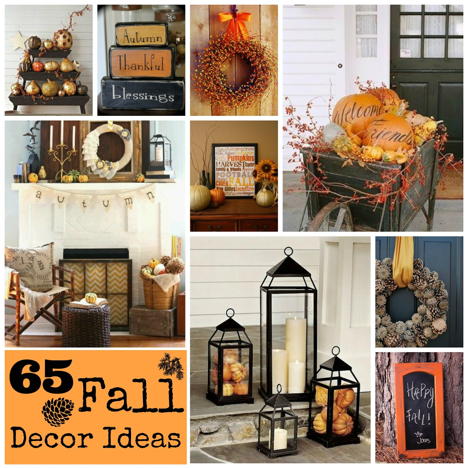 All Things Katie Marie: Fall Home Decor