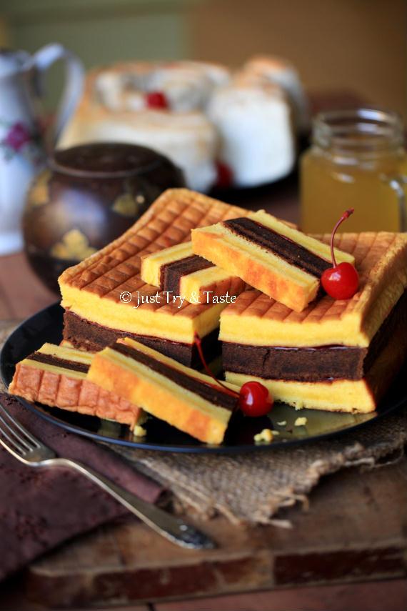 Resep Cake Lapis Surabaya - Moist, lembut, yummy! | Just