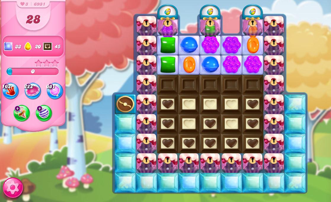 Candy Crush Saga level 6931