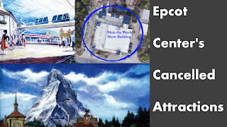 Epcot Center's Never Built Rides