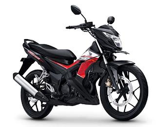 Warna Honda Sonic 150R Activo Black
