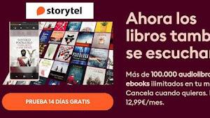 Prueba gratis Storytel durante 14 días