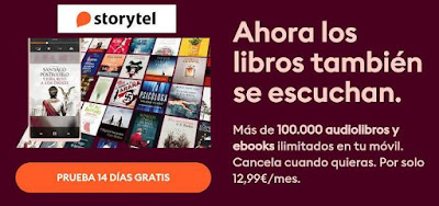 Prueba gratis audiolibros y ebooks