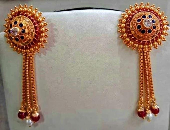 Jhumka kante Earring Jewelry Design | Fdbnj