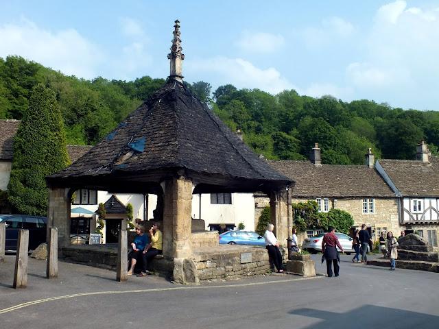 Market Cross en Castle Combe