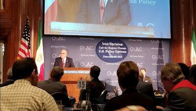 واشینگتن: قیام مردم ایران؛ کنفرانس فراخوان به تغییر رژیم و سخنرانی شهردار رودی جولیانی