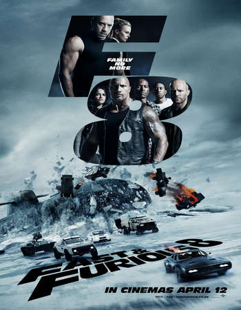 The Fate of the Furious 2017 Dual Audio Hindi 350MB HDTS 480p ESubs