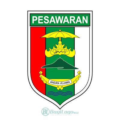 Kabupaten Pesawaran Logo Vector