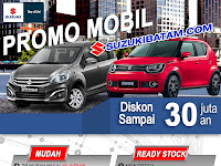 Promo Mobil Suzuki Batam 2018
