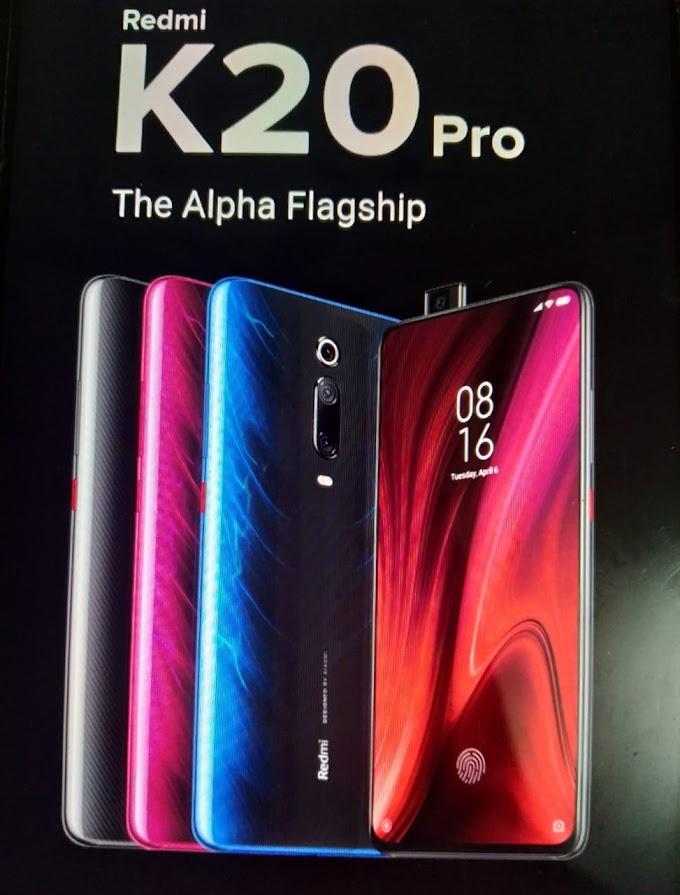 Redmi K20 pro-phone specification