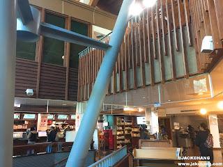 北投圖書館大廳