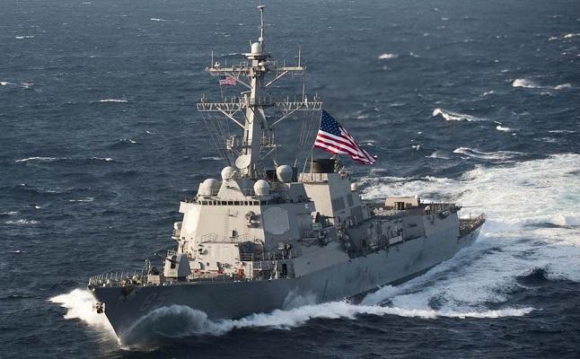 Hubungan Makin Tegang, China Usir Kapal Perang Amerika Serikat