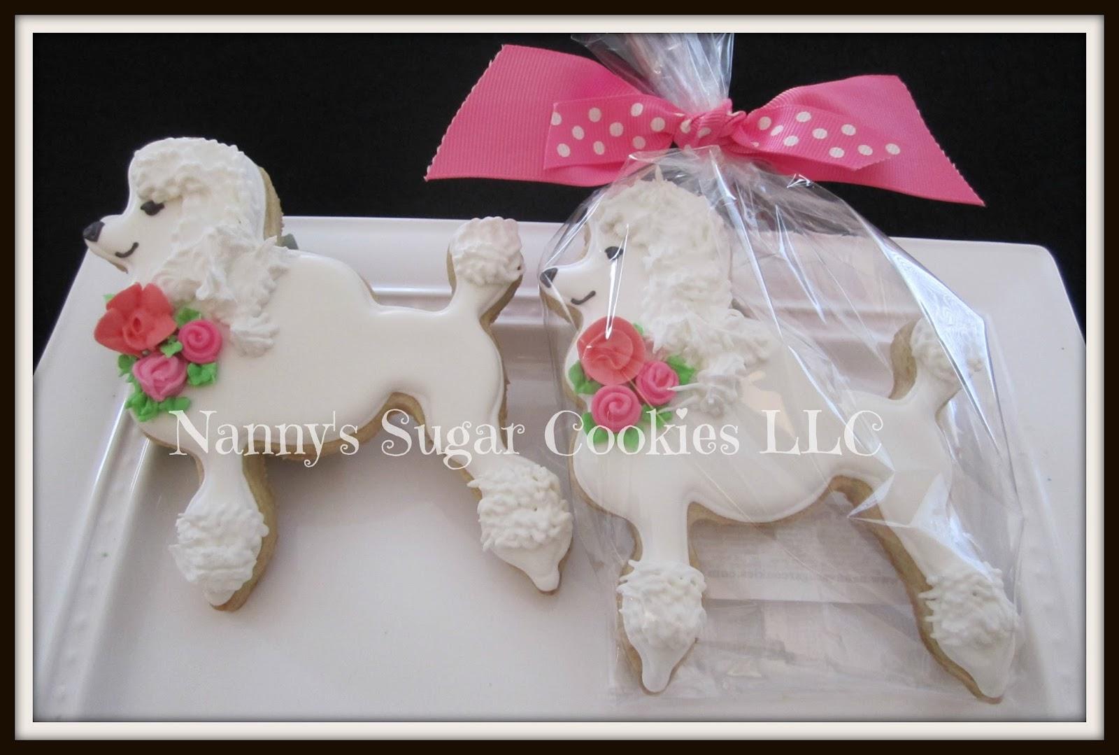 Nanny\'s Sugar Cookies LLC: Poodles & Frogs...