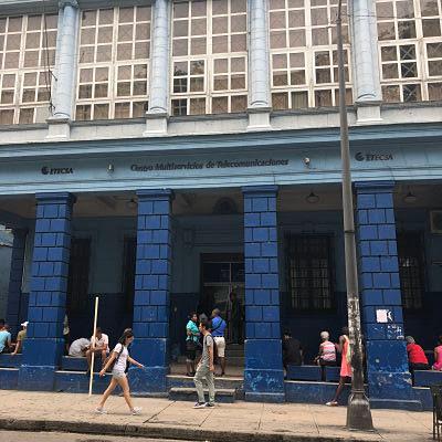ETECSA. Av Carlos III 663. La Habana