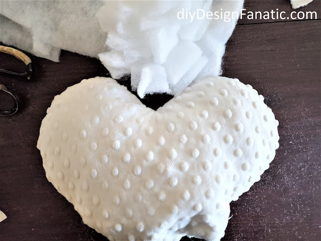 Valentine's Day, Valentine's Day gift, sewing project, cottage style, diy