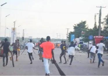Tension In Abuja As Fulani Bandits Attack #EndSARS Protesters (Photos)