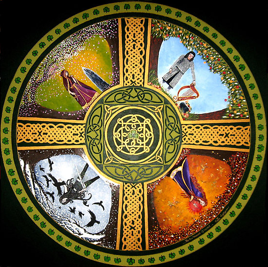 Some thoughts on the Tuatha Dé Danann, the People of the