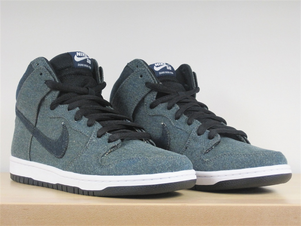 vegastar magazine nike sb denim dunk high. Black Bedroom Furniture Sets. Home Design Ideas