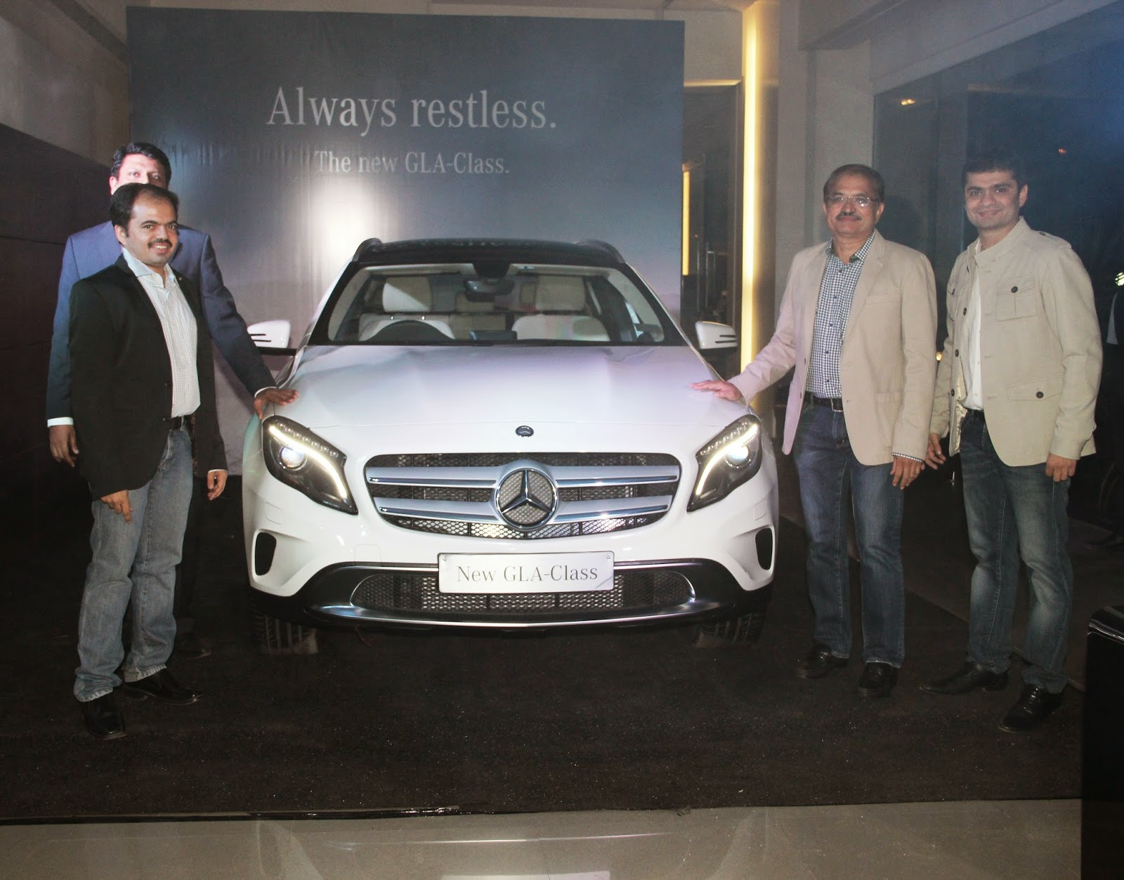 Group Shaman Directors, Chairman & CEO for the Mercedes-Benz GLA-Class Preview