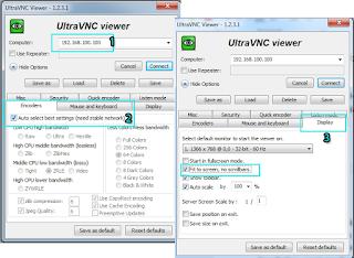 Memulai Remote UltraVNC