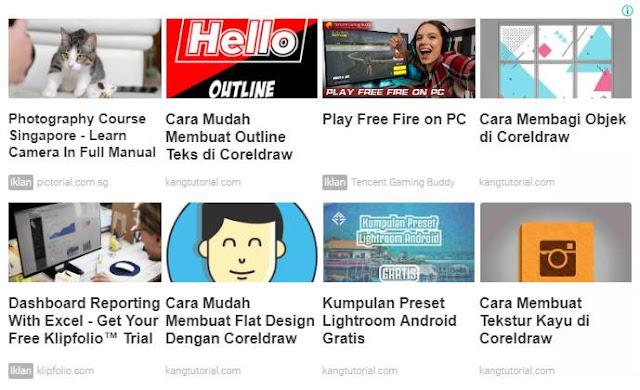 [Tips] Cara Mendapatkan Iklan Matched Content Google Adsense