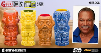 San Diego Comic-Con 2019 Exclusive Star Wars Geeki Tikis by Beeline Creative x Entertainment Earth