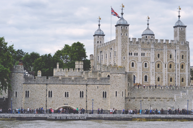 Tower of London and Traitors' Gate