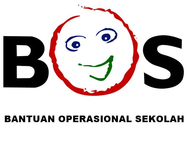 Logo BOS Background Putih Tulisan Hitam