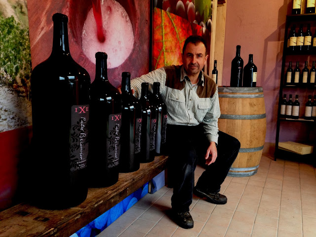 Winemaker Leonardo Beconcini