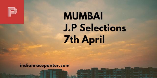 Mumbai Jackpot Selections 7th April. Trackeagle,Track Eagle