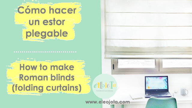 tutorial estor plegable