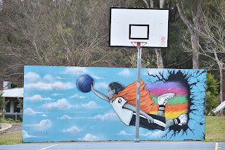 Riverwood Street Art   Mural by Nitusa