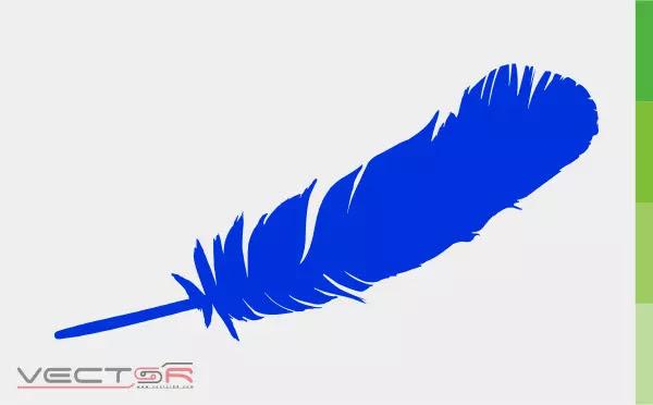 Blue Origin Feather Logo Icon - Download Vector File CDR (CorelDraw)