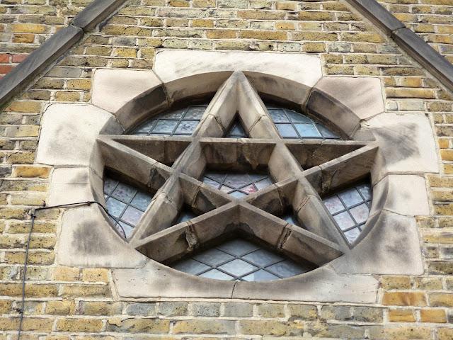 St. Barnabus Pentagram, Sacred Geometry