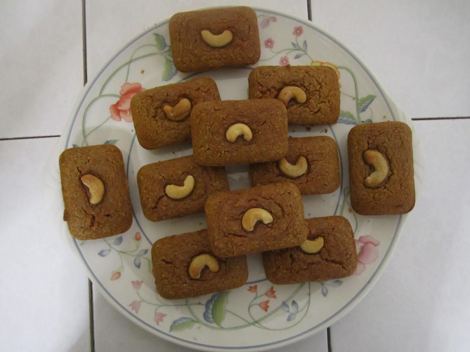 Mini cakes à la patate douce (sanshuile, sans beurre, sans gluten), noix de cajou farine de châtaigne